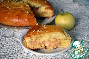 Рецепт Яблочное кольцо
