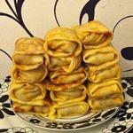 Нежнейшие блинчики с картофелем и грибами