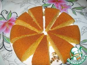 Рецепт Тыквенный кекс в мультиварке