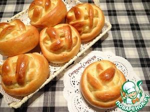 Рецепт Корзиночки с творожной начинкой