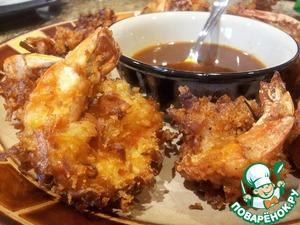 Рецепт Креветки в кокосе с острым тайским соусом (Coconut Shrimp)