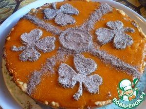 Рецепт Сладкий пирог с тыквой