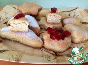 Рецепт Печенье постное на огуречном рассоле с кунжутом
