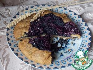 Готовим Постная чернично-ореховая галета домашний рецепт приготовления с фото
