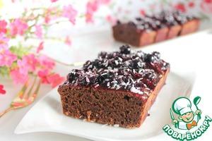 Рецепт Шоколадно-смородиновый кекс