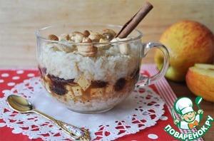 Рецепт Постный рисово-овсяный пудинг