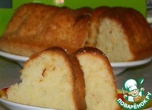 Рецепт Лимонно-йогуртовый кекс