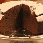 Финико-шоколадный пирог