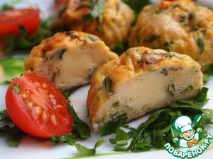 Рецепт Курино-овощные шарики с сыром