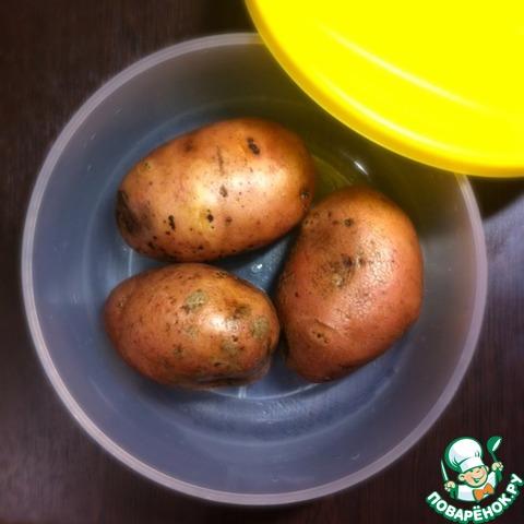 Как сделать картошку в микроволновке в домашних условиях 145