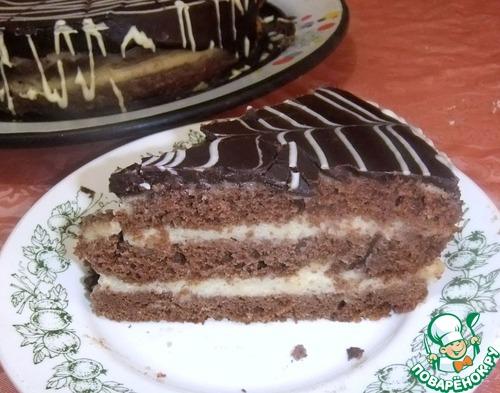 """Шоколадный торт """"Нежность"""""""