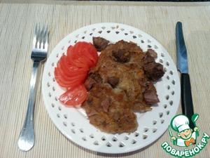 Рецепт Драники в мясном соусе