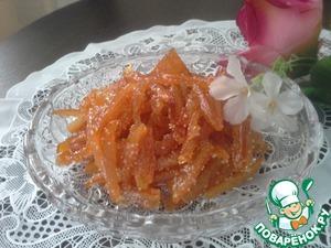 Цукаты апельсиновые сахарные вкусный рецепт приготовления с фотографиями
