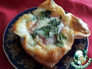 Рецепт Румяные пирожки с помидорами