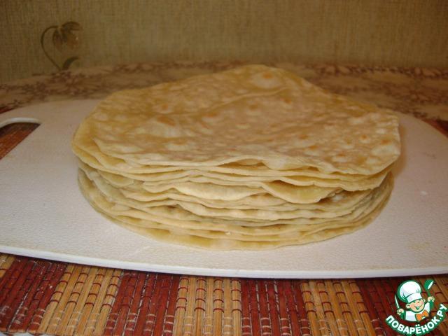 Рецепт торта наполеона на сковороде