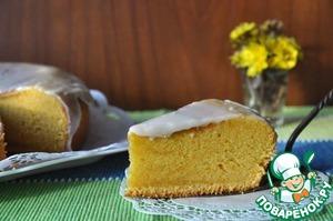 Рецепт Бразильский морковный пирог