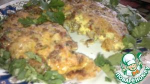 Рецепт Запеканка из фарша и яиц