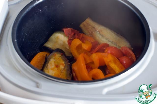 овощи запеченные в мультиварке рецепты с фото