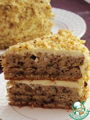 Рецепт Пастернаковый торт