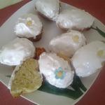 Кексы домашние с лимонной цедрой