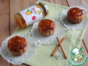 Рецепт Абрикосовые кексы с отрубями