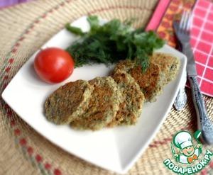 Рецепт Постные оладьи из чечевицы