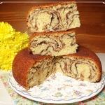 """Лимонадный кекс """"Мраморный"""""""