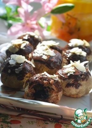 Рецепт Пряники медовые из ржаной муки с черносливом