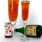 Десерт с шампанским Абрикосовый джаз