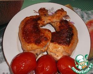 Рецепт Жареные куриные окорочка
