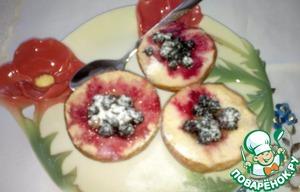 Рецепт Запеченные яблоки со смородиной