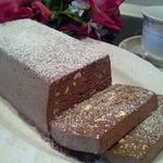 Семифредо шоколадно-фисташковое