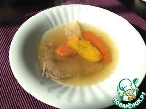 Рецепт Говяжий суп по-венски