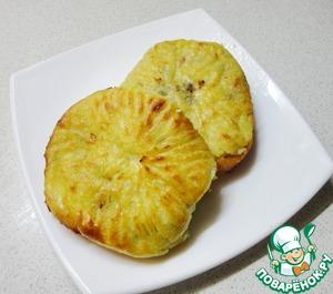Рецепт Картофельные зразы с начинкой из печени