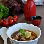 Суп из морепродуктов в восточном стиле