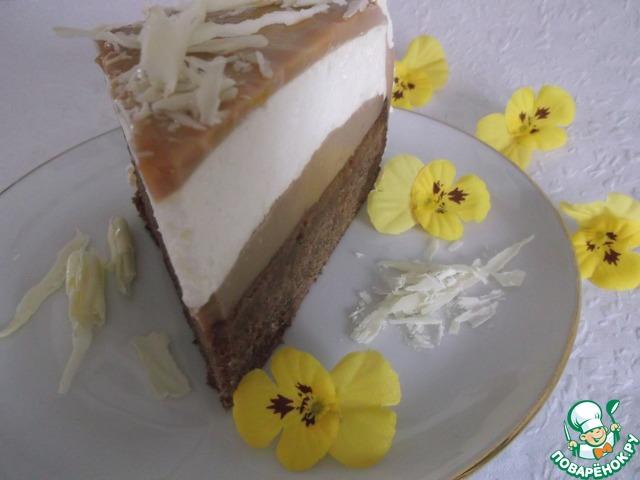 пирог из творожного желатина фото и рецепт
