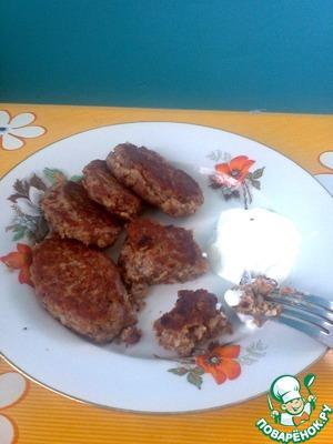 Фасолевые котлетки пошаговый рецепт приготовления с фото как готовить