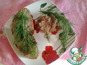 Рецепт: Паштет из куриной печени