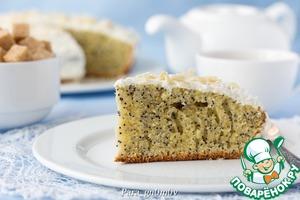 Рецепт А-ля венский пирог с маком