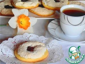 Рецепт Песочное пирожное А-ля Варшавское