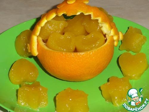 """Рисово-апельсиновые конфетки """"Рай от Мистраль"""""""