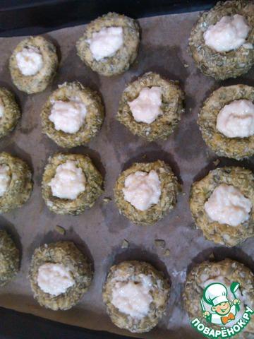 орешки с заварным кремом рецепт с фото