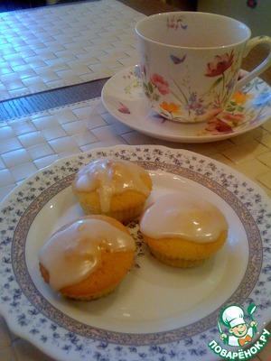 Рецепт Лимонные капкейки