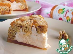 Рецепт Низкокалорийный абрикосовый десерт с конфитюром