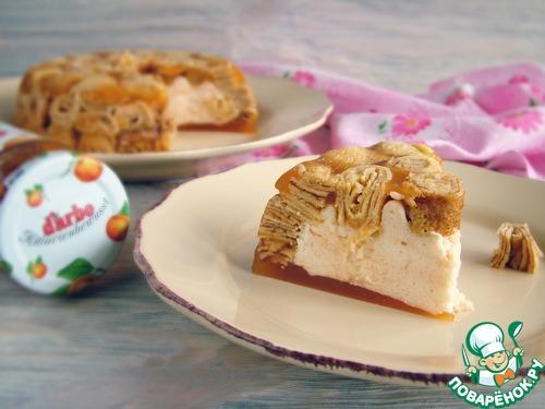 Низкокалорийный абрикосовый десерт с конфитюром