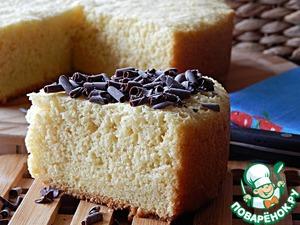 Рецепт Бисквит из кукурузной муки в мультиварке