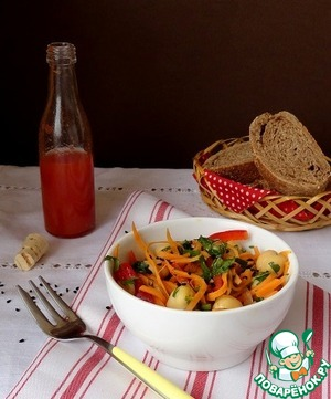 Салат с нутом рецепт с фотографиями