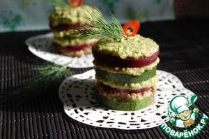 Овощной милфей домашний рецепт с фото пошагово готовим