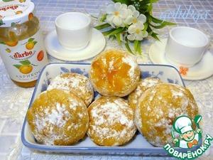 Рецепт Ананасовые шарики с конфитюром D'arbo