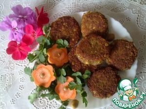 Рецепт Чечевичные котлеты-к постному столу